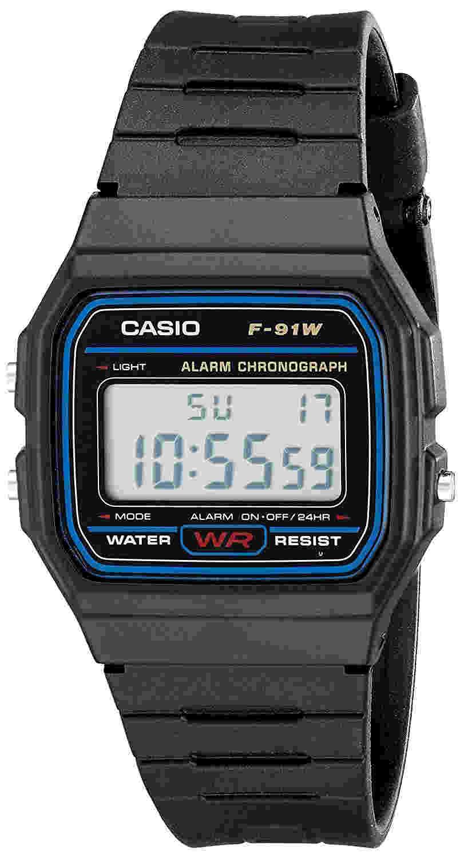 analisis reloj Casio f91w-1