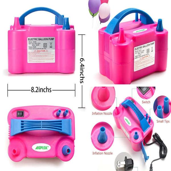 comprar bomba electrica para inflar globos